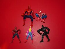 Marvel Spiderman Mixed Action Figure toy lot