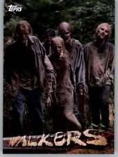The Walking Dead Season 5 Walkers  Card    #W-8