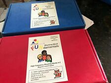 Lot Rhyming Word high frequency sight word flashcards. Literacy