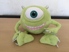 "DISNEY STORE EXCLUSIVE Monsters Inc Large Mikey 9""Sitting 15"" Tall Soft Toy"