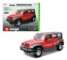 2300ff1deef JEEP WRANGLER RUBICON 1:32 Model Toy Car KIT Die Cast Models Miniature Red