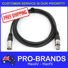 3M 120 Ohm 3 Pin DMX Lighting Interconnecting XLR Patch Cable Lead Cord Wire