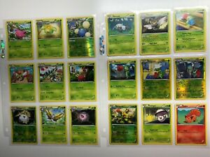 Pokemon Dragons Exalted Incomplete Set /124 English Excellent - Near Mint