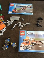 Lego City Transportation Helicopter Transporter (7686), Missing some decals