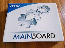 MSI Socket AM3+/AMD 760G/DDR3/CrossFireX/SATA3 USB 3.0 uATX 760GMA-P34(FX)