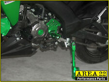 Area 22 Kawasaki Pro / Z125 2016 - 2017 CNC Front Counter Sprocket Cover Green