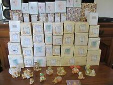 Variety Lot of 58 Cherished Teddies by Enesco 1991-2004