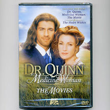 2 movies: Dr. Quinn, Medicine Woman, Heart Within, TV westerns, new DVD, Seymour