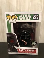 Star Wars Darth Vader Holiday  Glow Chase Limited Edition Funko Pop Vinyl