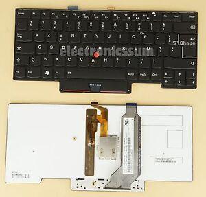 AZERTY Français Clavier for Lenovo Thinkpad X1 Carbon 1st Gen 2013, Rétroéclairé