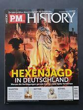 P.M. HISTORY 10/2018     HEXENJAGD IN DEUTSCHLAND     ungelesen, 1A TOP Zustand