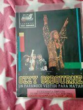 Ozzy osbourne 1979 1998  manowar Pearl Jam the doors REVISTA SPAIN lot rare MAGs