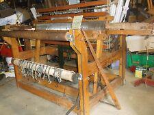 Newcomb Weavers Delight Fly Shuttle rug / blanket vintage loom  4 harness union