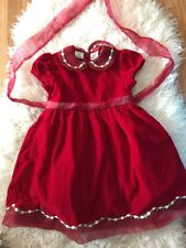 Red Velvet 24 Mo Holiday Christmas Dress Girls Tulle Party Dress
