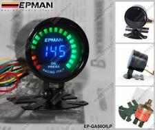 """epman Carreras 52mm 2"""" Digital Analógico LED presión de Aceite Calibre Medidor W"""