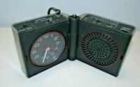 Vintage Westclox Model #80141 Alarm Clock Radio/Parts or Repair