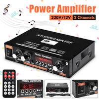 Mini LCD HIFI Stereo Digital Verstärker Power Amplifier Bluetooth Radio für Auto