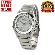 Citizen Attesa  CB1070-56A Eco-Drive Atomic Radio Titanium Watch - 100% JAPAN