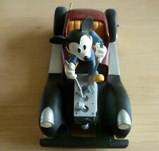 Extremely Rare! Disney Mickey Mouse Repairing His Car Demons & Merveilles Statue