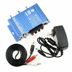 Mini Hi-Fi Stereo Amplifier for Cars Motorcycle Home 12V