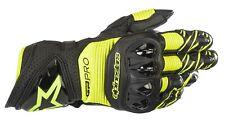 Alpinestars GP Pro R3 Gloves Gr. M schwarz gelb fluo Racing Motorradhandschuhe