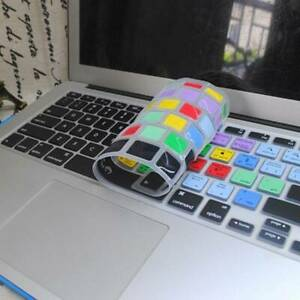Macbook Air 13 15 17Inch PS Function Shortcut Silicone Dustproof Keyboard Covers