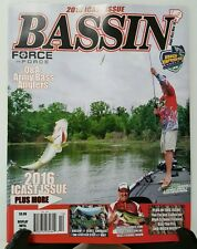 Bassin Army Bass Anglers ICAST Issue Tackle Sept Oct Nov 2016 FREE SHIPPING JB