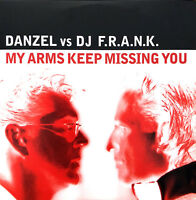 Danzel vs. DJ F.R.A.N.K. ‎CD Single My Arms Keep Missing You - France (EX/EX+)