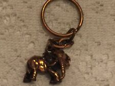 Collectible Keychain: Elephant Copper Design