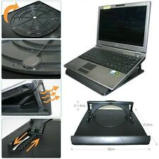 Cooling Cooler Pad Stand Holder Rotation Incline iPad Tablet PC Notebook Laptop