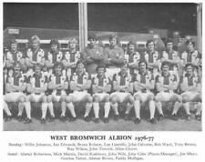 WEST BROMWICH ALBION FOOTBALL TEAM PHOTO>1976-77 SEASON