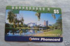 ADELAIDE SKYLINE  $5  AUSTRALIAN PHONECARD
