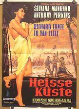 HEISSE KÜSTE (Pl. '58) - SILVANA MANGANO / ANTHONY PERKINS