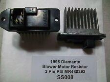 1998 Mitsubishi Diamante Blower Motor Resistor Pt# MR460293  OEM 3 Pin  #SS008