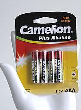 Camelion Plus AAA Micro Alkaline Power Battery LR03 4er Pack Universal Batterien
