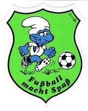 Aufkleber, Wappen, Fussball - Schlumpf, Anfang 1980
