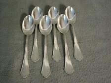 6 Teelöffel Wempe  800er Silber Chippendale