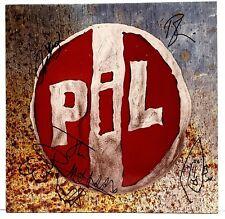"JOHNNY ROTTEN PIL + 3 Signed Autographed VINYL ""OUT OF THE WOODS"" JSA # V77515"