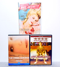 New listing Sofia Coppola 3 Dvd Lot Virgin Suicides Lost in Translation Marie Antoinette A24