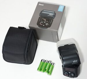 Nissin i60A Compact Flash TTL Fujifilm Fuji Rechargeable Batteries Included!