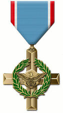 Framed Print - Air Force Cross Medal (Picture War Art UN Military Army Navy RAF)