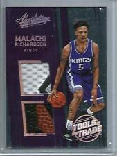 Malachi Richardson 16/17 Panini Absolute Game Jersey Patch-Basketball RC #12/25