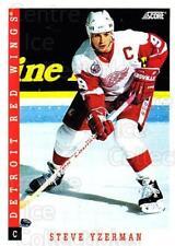 1993-94 Score USA #310 Steve Yzerman