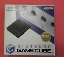 Official Nintendo GameCube Memory Card 251 -Boxed-