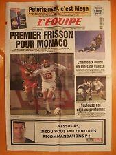 L'équipe 16694 du 8/1/2000-1re frisson pour Monaco-1 mois de vitesse à Chamonix