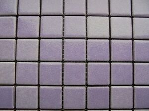 MOSAIC IN VIOLET (CICLAMINO 06) 30 x 30cm JOB LOT OF 20 SHEETS (PRICE DROP!!)