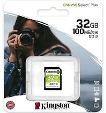 Kingston canvas Select plus tarjeta SD 32gb tarjeta de memoria Memory Card class 10
