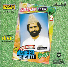 Saeed Chishti Qawwal - SAQIA HOR PILA - Vol 2 - NEW SOUND TRACK CD - FRE UK POST