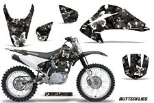 Honda CRF 150/230F Graphic Kit AMR Racing Decal Sticker Part 03-07 BFLY WHT BLK