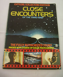 Close Encounters Of The Third Kind Official Collectors Edition Full Story Book